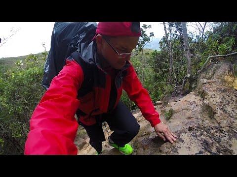 Subida da La Rampa no Monte Roraima