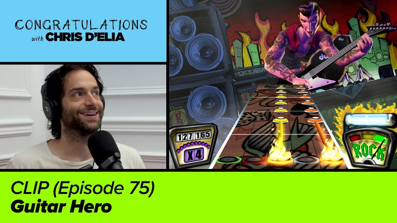 CLIP: Guitar Hero – Congratulations with Chris D'Elia