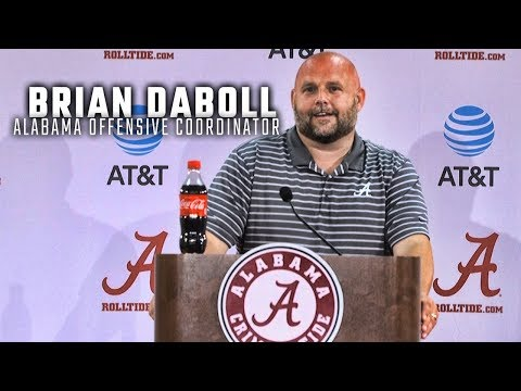 Watch Brian Daboll address the media for the first time as Alabama's new OC
