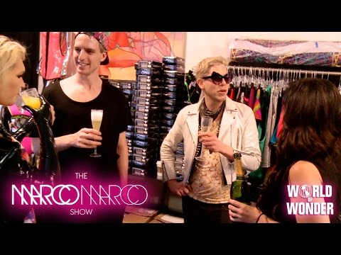 milk - Enjoy the video? Subscribe here! http://bit.ly/1fkX0CV Sunday Funday at Marco Marco! With only two days until the show, Sharon Needles, Milk, Mathu Andersen, Gigi Gorgeous, Willam, Sonique,...
