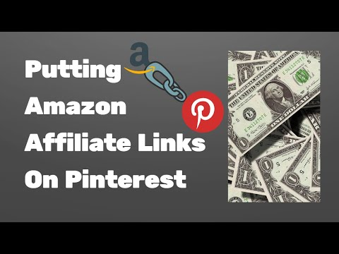 , title : 'How to use Amazon affiliate links on Pinterest'