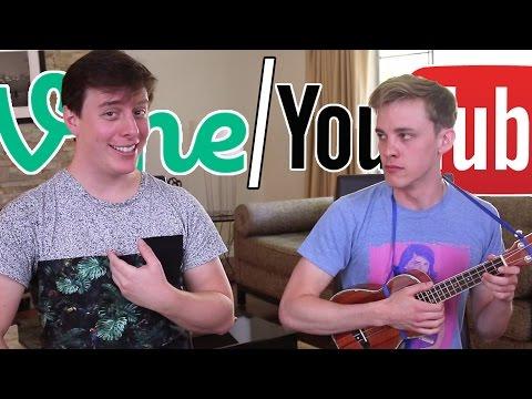 Vine vs YouTube: The Song (ft. Thomas Sanders) (видео)