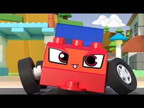 Чичиленд - Вспомнить всё - Мультики про машинки из конструктора - Игры для детей