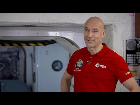 Ο Λούκα Παρμιτάνο και η εξάμηνη διαστημική αποστολή του…