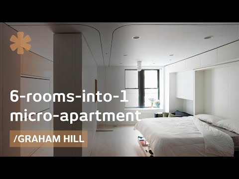 Manhattan Mini Apartment 6 rooms into 1