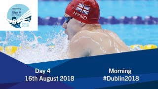 Day 4 Morning | 2018 World Para Swimming Allianz European Championships