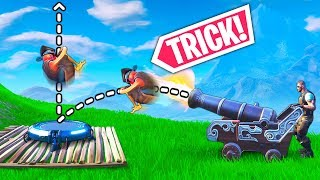 *NEW* CANNON + JUMP PAD TRICK!! - Fortnite Funny WTF Fails and Daily Best Moments Ep. 981