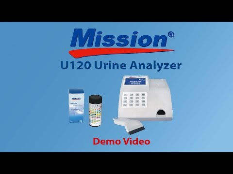 Mission U120 Urine Analyzer Demo
