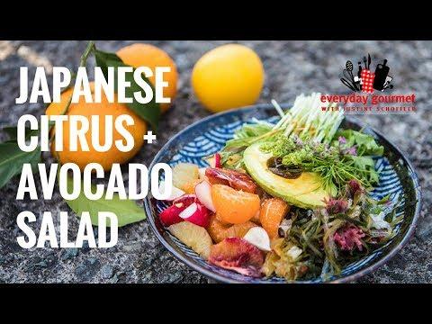 Japanese Citrus & Avocado Salad   Everyday Gourmet S7 E45