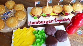 HOW TO CUPCAKE A HAMBURGER | Abbyliciousz The Cake Boutique