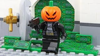 Video Lego Halloween - The Bank Robbery MP3, 3GP, MP4, WEBM, AVI, FLV Februari 2019