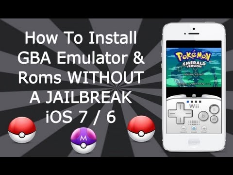 DinoZambas2 - Please Read This is the new work around how to install Gameboy Advance emulator and games on iPhone, iPad & iPod Touch without a Jailbreak iOS 7.1 Beta / 7.0...