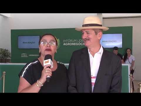 Aldo comenta agricultura e questão ambiental no 8º Fórum Lide de Agronegócios