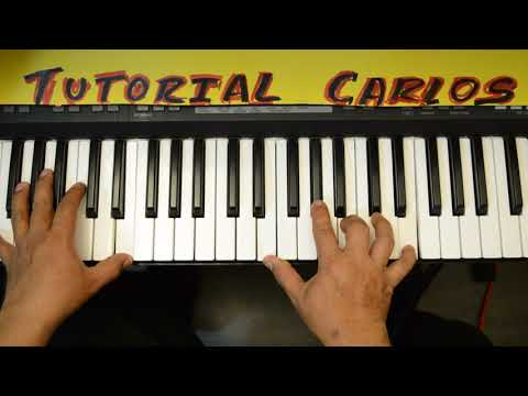Way Maker Aqui Estas Piano Tutorial Carlos
