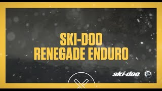 7. 2017 Ski-Doo : Renegade Enduro
