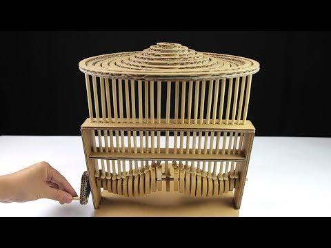 Amazing DIY Water Experiment Automata using Cardboard - Just5mins