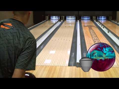 Hammer Arson Pearl Bowling Ball