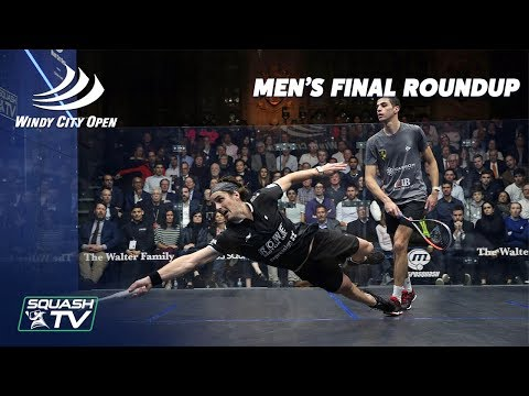 Squash: Farag v Coll - Men's Final Roundup - Windy City Open 2020