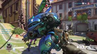 Overwatch The most friendly enemy D.va and we betrayed her(still sad)