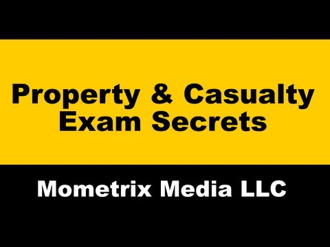 NFIP Exam Prep – Property & Casualty