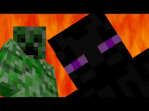 Creeper vs Enderman – Epic Rap Battles of Minecraft