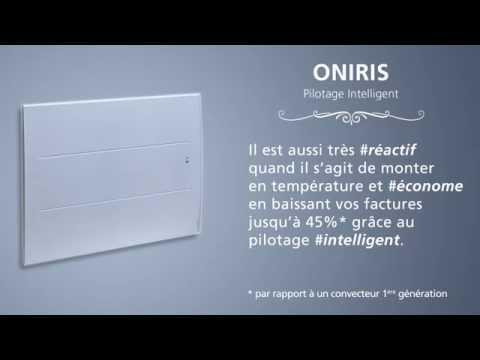 Radiateur Oniris Pilotage intelligent- ATLANTIC