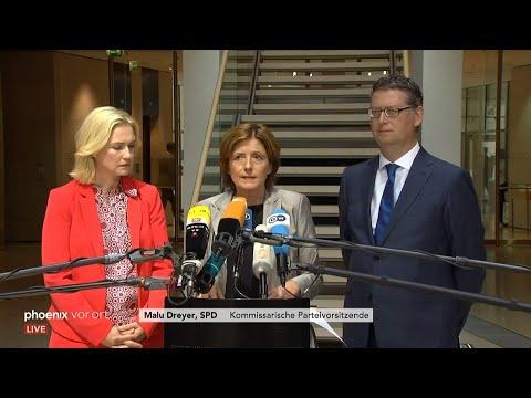 Pressekonferenz der SPD: Bilanz zur Halbzeit der Regie ...