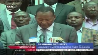 Joseph Nkaissery Meets Samburu Leaders Over Clashes