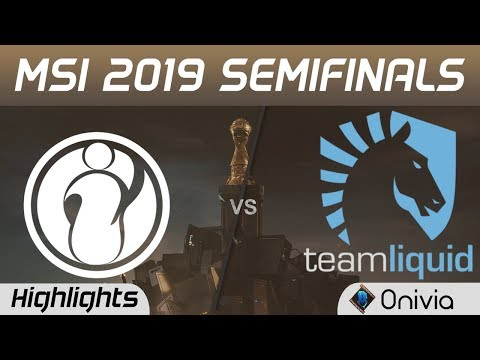 IG vs TL Highlights Game 1 MSI 2019 Semifinals Invictus Gaming vs Team Liquid by Onivia