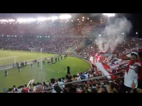 Video - Hinchada de River vs Boca - Superclasico - Mar del Plata 2015 - Los Borrachos del Tablón - River Plate - Argentina