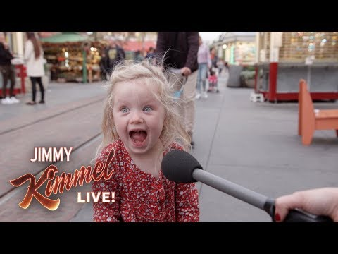 Jimmy Kimmel Asks Kids What They Think of Donald