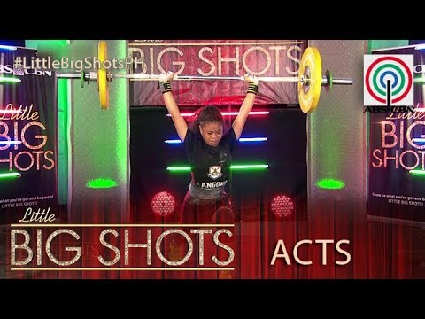 Little Big Shots Philippines: Lovely | 13-year-old Weightlifter