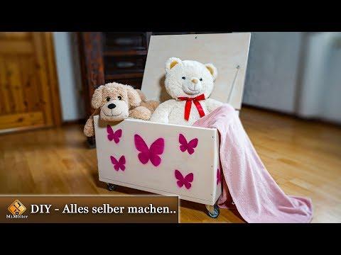 Spielzeugtruhe selber bauen - Anleitung zum Nachmache ...