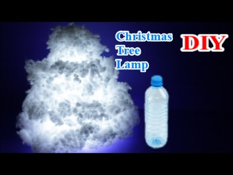Download Easy Crafts Ideas: Reuse Plastic Bottle for Best out of Waste DIY Christmas Tree Cloud Light Lamp HD Video
