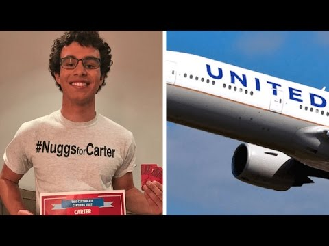 United Airlines Gets ROASTED After Inviting NUGGETS GUY For Free Flight | What's Trending Now!