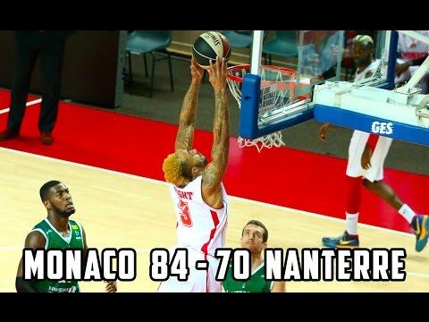 Pro A — Monaco 84 - 70 Nanterre — Highlights
