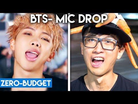 K-POP WITH ZERO BUDGET! (BTS- 'MIC DROP') (видео)
