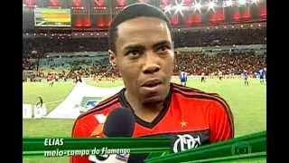 História do jogo Flamengo x Cruzeiro válido pelas oitavas de final da Copa do Brasil 2013.