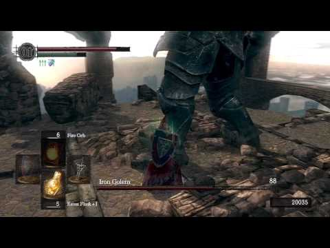 Dark Souls - Iron Golem Boss