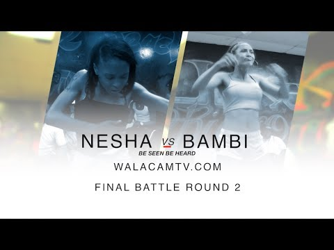 BAMBIE VS NESHA RD 2 @ BATTLE GROUNDS/ DA WARZONE!!