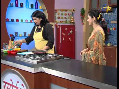 2404 - The show invites guests from across the Indian states, who show the audience how to prepare their invented dishes; as well as how already existing dishes could be made more tastier, healthier,...