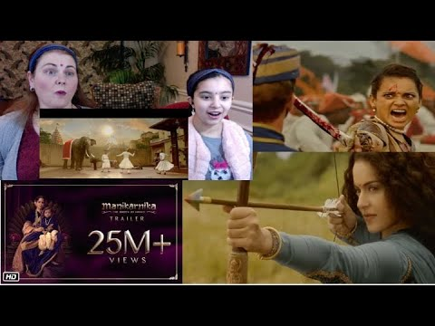 Manikarnika /  The Queen Of Jhansi Trailer / Americans Reaction