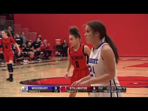 High School Girls Basketball: Woodbury Vs. Stillwater