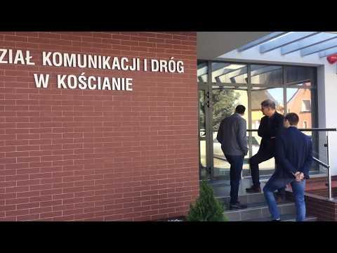 Wideo1: Otwarcie nowego budynku Wydziału Komunikacji i Dróg w Kościanie