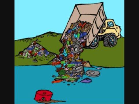 Dibujos de la contaminacion ambiental para niños - Imagui