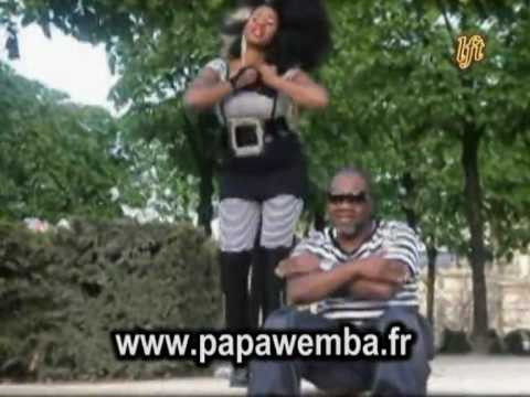 PAPA WEMBA ET MAKOMA : TOURNAGE CLIP SIX MILLIONS YA BA SOUCIS
