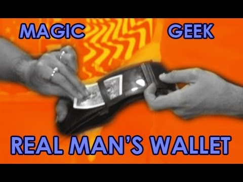 Real Man's Wallet Magic trick