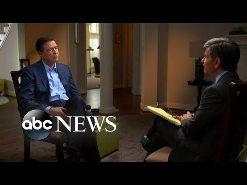 James Comey Interview Part 1: Telling Trump about the 'dossier'