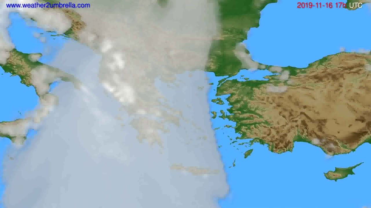 Cloud forecast Greece // modelrun: 00h UTC 2019-11-15