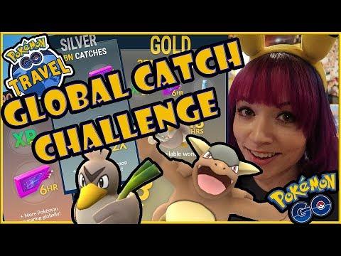 Niantic's GLOBAL CATCH CHALLENGE & POKEMON GO TRAVEL! w/ livestream recap!